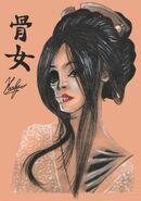 Yokai hone onna by neoyurin d84g9pj-pre
