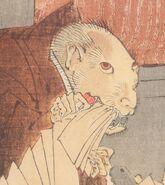 Priest Raigo by Tsukioka Yoshit (UP CLOSE)