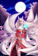 Kitsune ahri by nyaruko-d6gzhe4