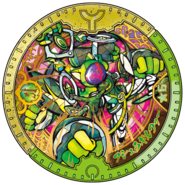 Ashura Gilfer Yo-kai Hero Y Medal