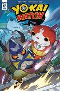 Yokai Watch comic 2 cover A