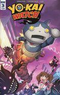 Yokai Watch comic 3 cover A