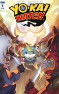 Yokai Watch comic 1 cover A