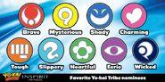 Seven Yo-Kai tribes