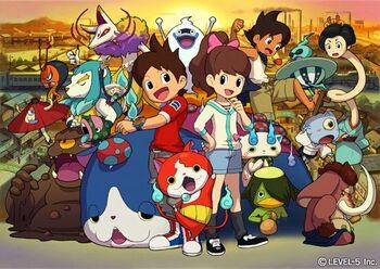 Yo-kai watch main characters.jpg