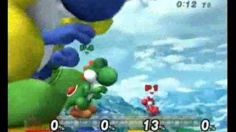 Super Smash Bros Brawl - The Growing Yoshi Rainbow