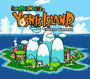 Title Screen - Super Mario World 2