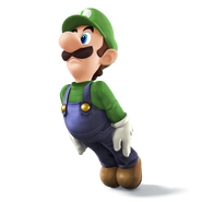 Luigi for SSB4
