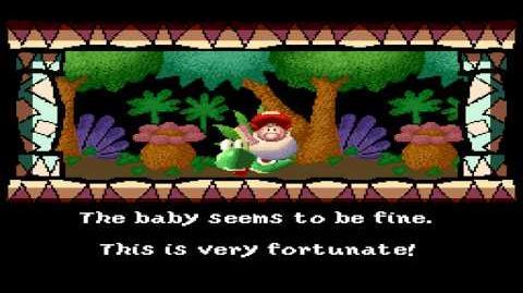 Super Mario World 2 Yoshi's Island - Intro