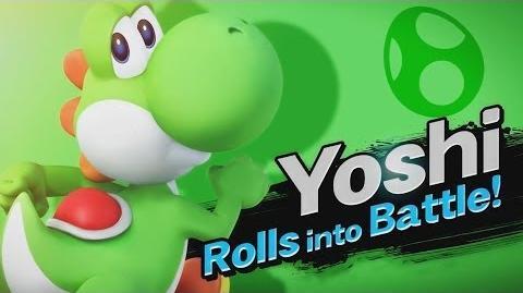 Yoshi Returns - Super Smash Bros for Wii U 3DS