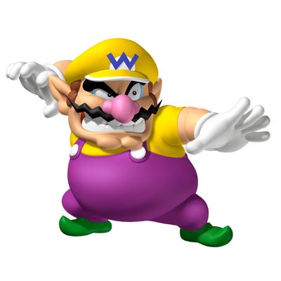 Wario in Mario Party:Island Tour.