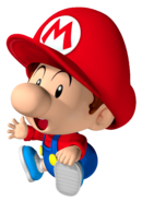 Sitting Baby Mario