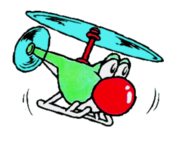 Yoshi Helicopter Art - Super Mario World 2.png