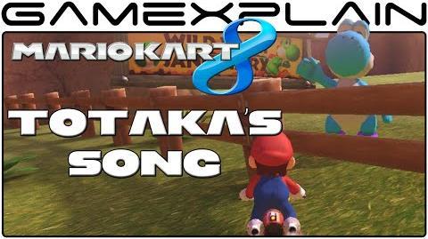 Totaka's Song in Mario Kart 8 (Secret)