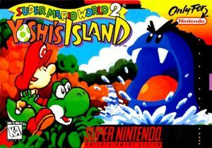 The image on the SNES cartridge.