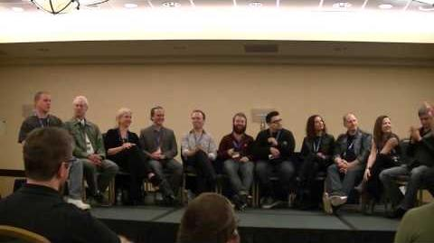 Voice Actor's Panel at Gallifrey One '14