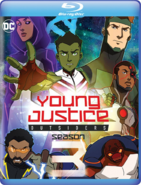 Young Justice Outsiders Blu-ray cover