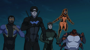 Nightwing's team first mission