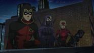 Batman's team stalking