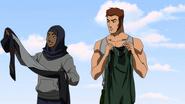 Brion and Violet get supersuits