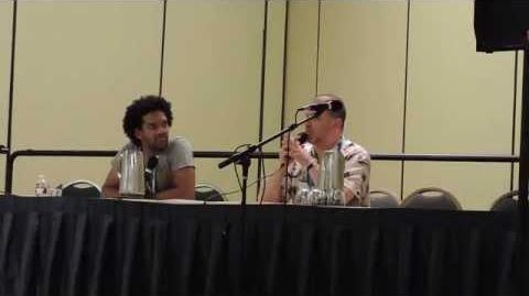 Greg Weisman and Khary Payton at Mechacon '14 - Part 2