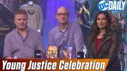 """""""Young Justice Celebration"""" with Greg Weisman, Brandon Vietti and Zehra Fazal on DC Daily"""