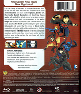 Young Justice Invasion Blu-ray back cover