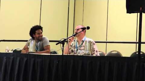 Greg Weisman and Khary Payton at Mechacon '14 - Part 3