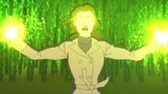 Zatanna casting a spell