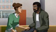 Helga and Jefferson bonding