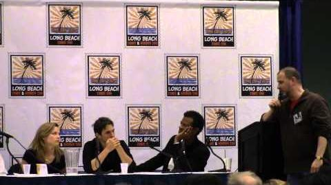 Voice Actor's Panel at Long Beach ComicCon '13 (1)