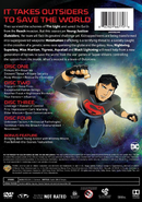 Young Justice Outsiders back cover