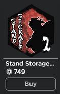 Second stand storage gamepass