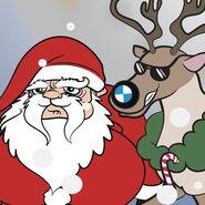 Santa cover art