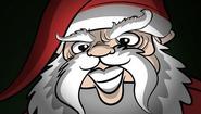 Santa thumb
