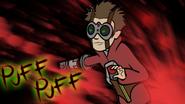 High voltage puff