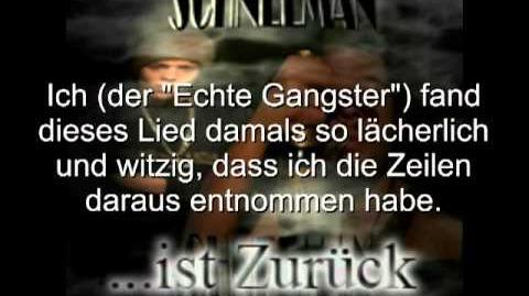 """Das Lied aus dem """"Echter Gangster""""-Video Original"""