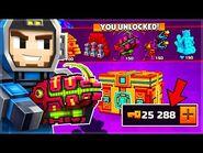 I SPENT 25,000 KEYS ON ALIEN LOTTERY SUPER CHESTS! - Pixel Gun 3D