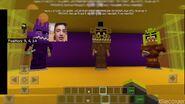 Video in cui crea minecraft pizzeria