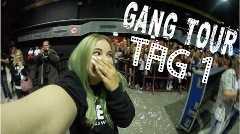 BUSTOUR & 1. SHOW - GANG TOUR