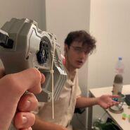 Wilbur and Vlog gun