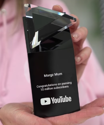 Youtube button Youtube play button replica Youtube channel gift Youtube award Youtube subscribers award Youtube play button gift
