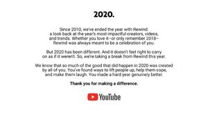 YouTube Rewind 2020
