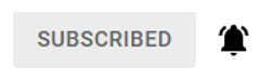 An Example Of A Subscription Button After Subscribing, With Notifications Turned On