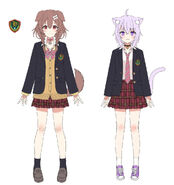 Korone by her character designer fukahire (9)