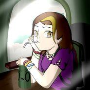 Julie as Anime 5