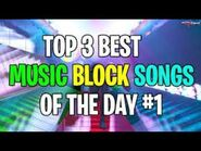 Fortnite Top 3 Music Block Songs! (Codes Included)