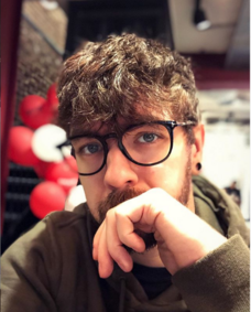 Jacksepticeye's new hairstyle and glasses