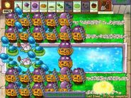 Plants vs Zombies Last Stand Endless flag 395-400