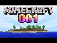 Let's Play Minecraft -001 -Deutsch- -HD- - Alles auf Anfang